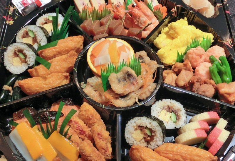 Assorted Appeteizer platter Japanese